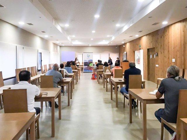 Curso de la Diputación de Badajoz en Helechosa de los Montes