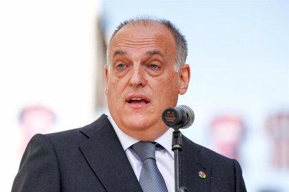 Fútbol.- FASFE presenta una querella criminal contra Javier Tebas, su hijo y el presidente del Fuenlabrada