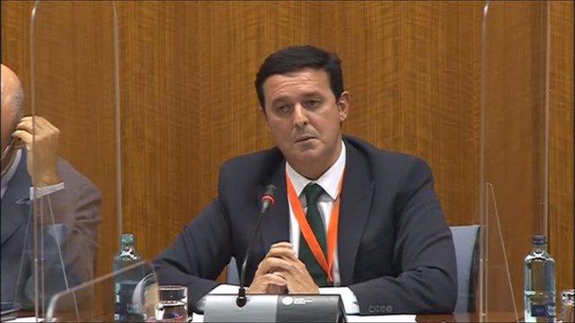 El presidente de la Diputación comparece en la comisión parlamentaria sobre reto demográfico
