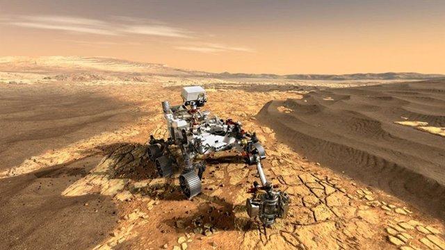 Fluidos ácidos pudieron borrar toda biofirma en las arcillas de Marte