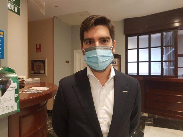 El director financiero de Greenalia, Antonio Fernández-Montells, este martes