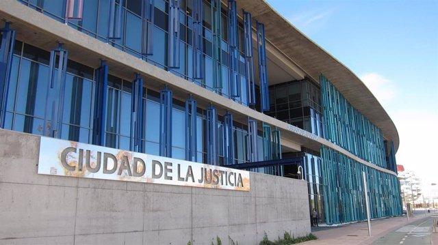 Edificio de la Ciudad de la Justicia de Zaragoza.