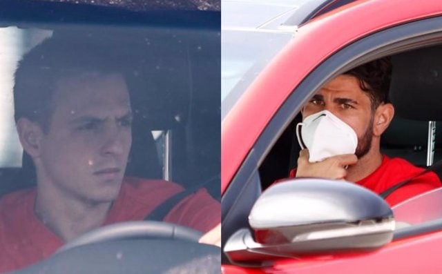 Fútbol.- Diego Costa y Arias se reincorporan a los entrenamientos tras superar e