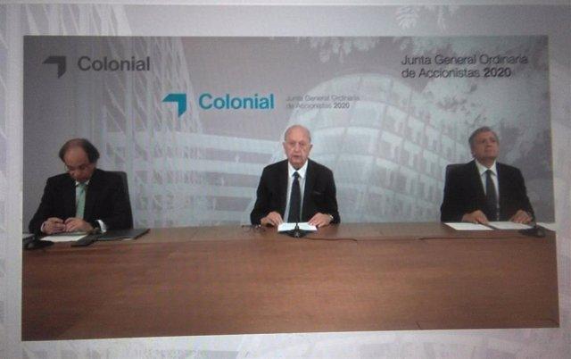 Junta de accionistas de Colonial celebrada de forma telemática