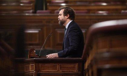 Vox se queda solo en el Congreso defendiendo su ley para ilegalizar a partidos independentistas