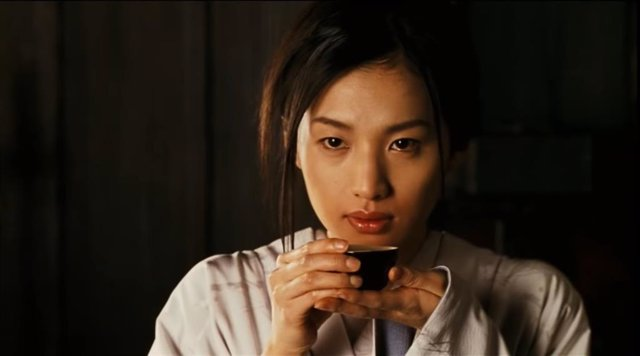 Sei Ashina en la película Seda