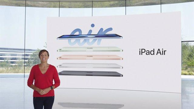 Apple presenta los nuevos iPad Air con pantalla sin marcos y puerto de carga USB