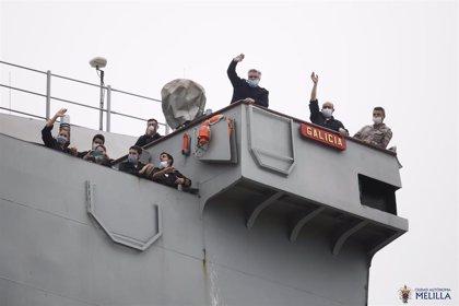 El principal partido del Gobierno de Melilla pide la vuelta del buque Galicia o instalar hospital covid