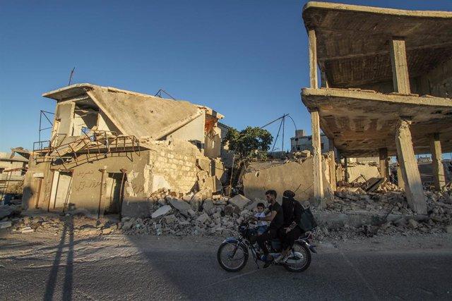 AMP.- Siria.- Los investigadores de la ONU acusan a las fuerzas de Al Assad de n