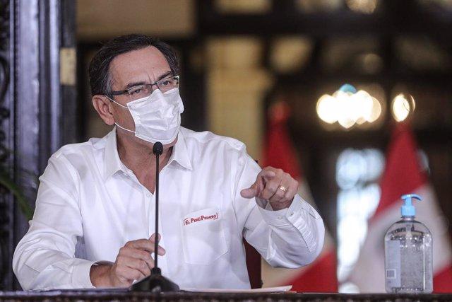 """Coronavirus.- El presidente de Perú dice que hay """"una luz al final del túnel"""" po"""