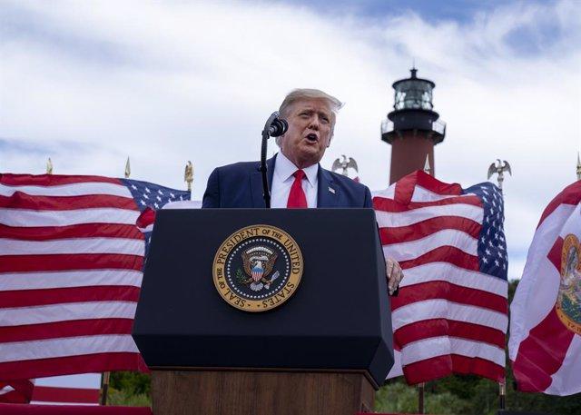 """AMP.- Coronavirus.- Trump asegura que EEUU está """"a pocas semanas"""" de conseguir u"""