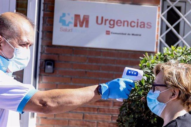 Dispositivo para la realización de pruebas PCR de coronavirus a vecinos de Alcobendas