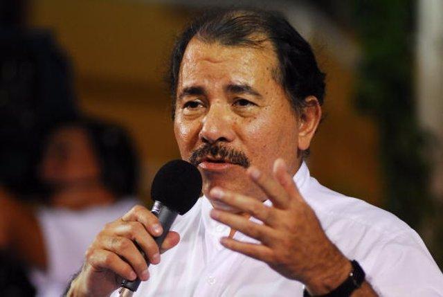 El presidente de Nicaragua, Daniel Ortega (Imagen de archivo)