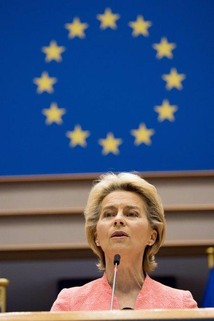 """Von der Leyen propone que la UE reduzca """"al menos un 55%"""" las emisiones de gases de efecto invernadero para 2030"""