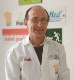 El investigador José Manuel Fuentes