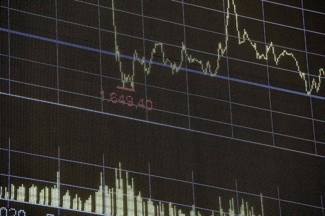 Valores en la Bolsa de Madrid (España), a 4 de septiembre de 2020.