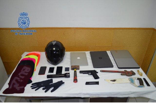 Tres detenido en dos dispositivos contra la delincuencia itinerante en Girona