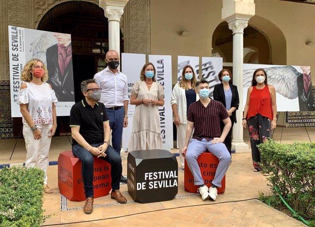 Presentación del cartel cinematográfico del Festival de Sevilla.