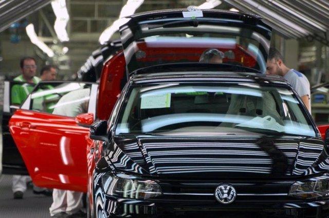 Planta de Volkswagen en Navarra