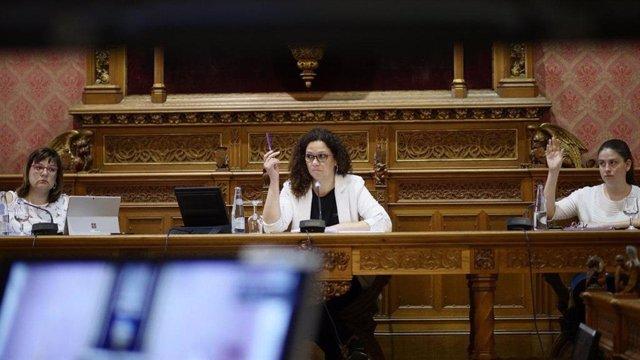 El pleno del Consell de Mallorca.
