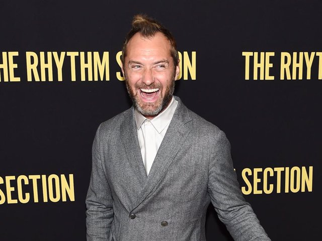 """Jude Law Attends The Screening Of """"The Rhythm Section"""" At Brooklyn Academy Of Music"""