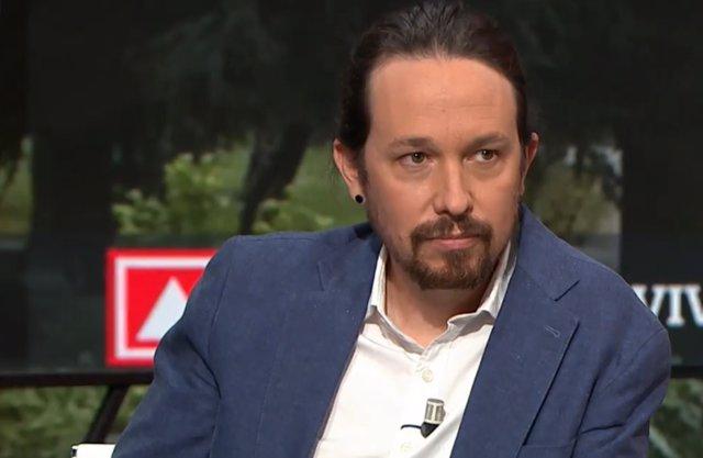 Entrevista de La Sexta al vicepresident segon del Govern central, Pablo Iglesias.