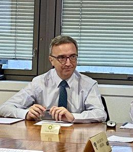 Luis Aires, presidente de BP España y la AOP