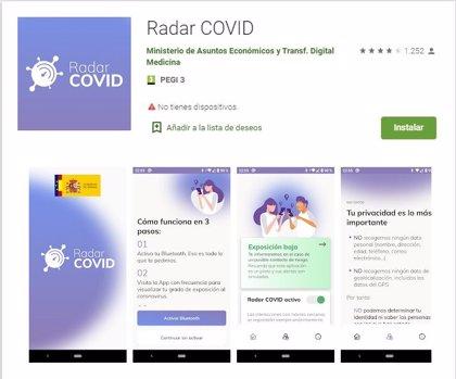 La app 'Radar Covid' arranca este viernes su puesta en marcha en Castilla-La Mancha