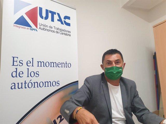 El presidente de UPTA España, Eduardo Abad