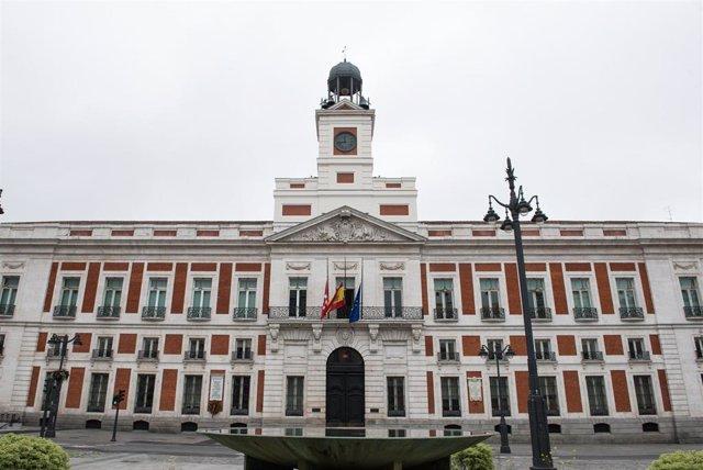 Fachada de la Puerta del Sol