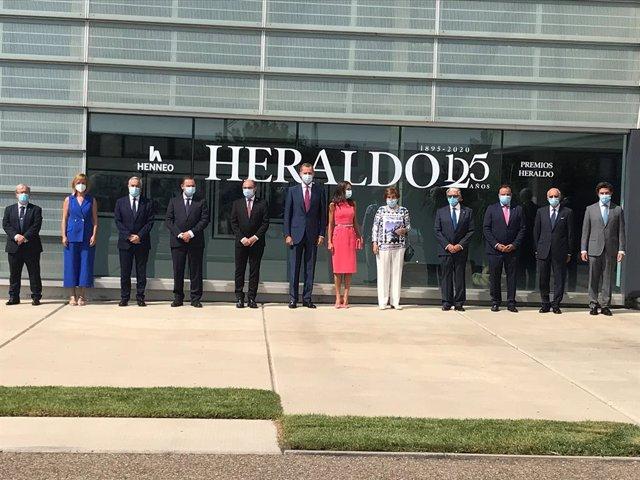 AMP.- Los Reyes destacan el compromiso de Heraldo de Aragón con la libertad y lo