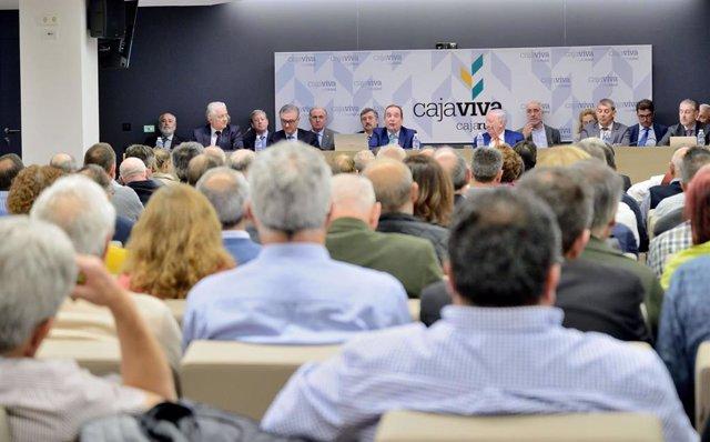 Valladolid (03-06-2018).- Asamblea Cajaviva Caja Rural