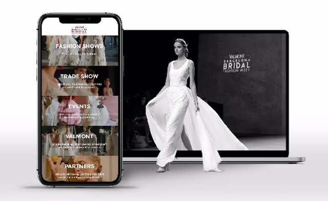 Fira.- La Valmont Barcelona Bridal Fashion Week estrena aplicación digital