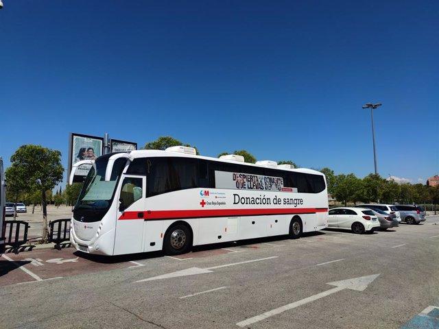 Campaña de donación de sangre de Cruz Roja en intu Xanadú