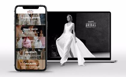 Fira.- La Valmont Barcelona Bridal Fashion Week estrena plataforma digital
