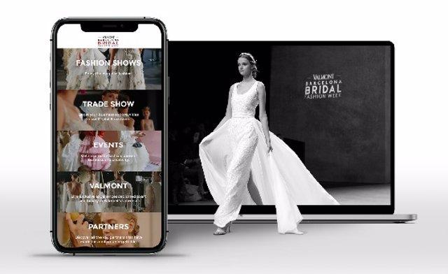La Valmont Barcelona Bridal Fashion Week estrena aplicació digital