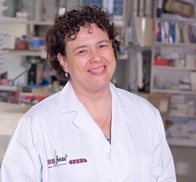 La directora técnica del Centre de Recerca Experimental Biomèdica Aplicada (CREBA) de Torrelameu (Lleida), Dolores García Olmo