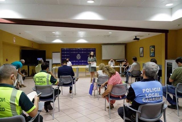 Reunión para coordinar acciones de preservación de Anaga