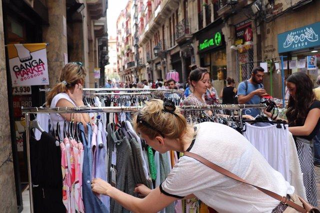 'Ganga Market' En El Casco Viejo De Bilbao