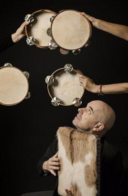 O músico coruñés Xabier Díaz