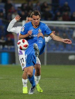 Fútbol.- El Getafe cede a Ignasi Miguel al Leganés