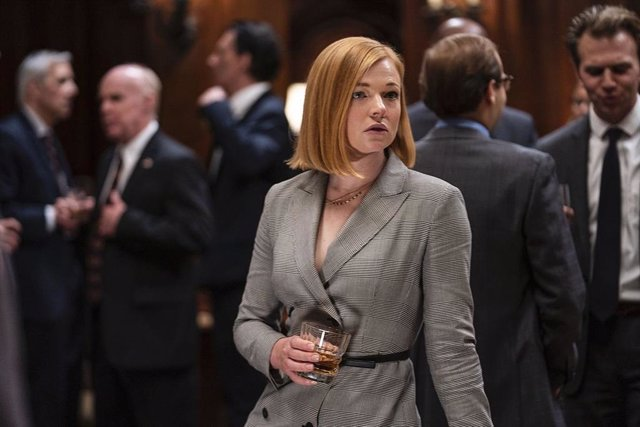 Sarah Snook en Sucesión de HBO