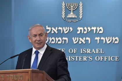 """O.Próximo.- Netanyahu dice a su llegada a Israel que los acuerdos con EAU y Bahréin son """"una enorme revolución"""""""