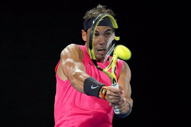 Tenis/Roma.- Rafa Nadal retorna arrollador ante Pablo Carreño y pasa a octavos d