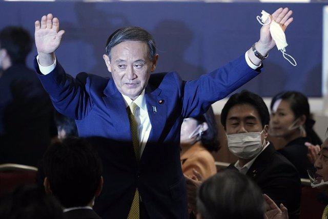 AMP3.- Japón.- Yoshihide Suga, elegido como primer ministro de Japón en sustituc