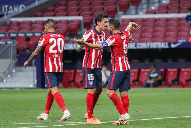 Fútbol.- El Atlético de Madrid se medirá al Almería en el Wanda en su único part