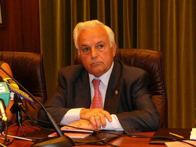 José Luís Baltar Pumar, presidente da Deputación de Ourense
