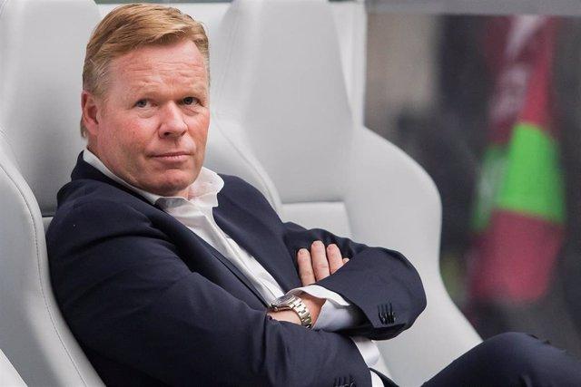 El entrenador neerlandés Ronald Koeman