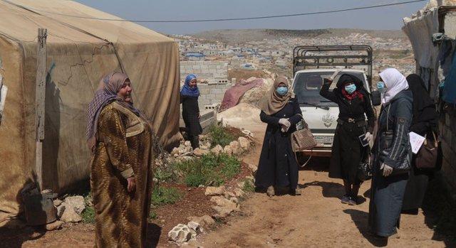 Coronavirus.- La ONU avisa de que la propagación de la COVID-19 en Siria puede s