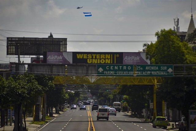 Celebraciones de la independencia en San Salvador